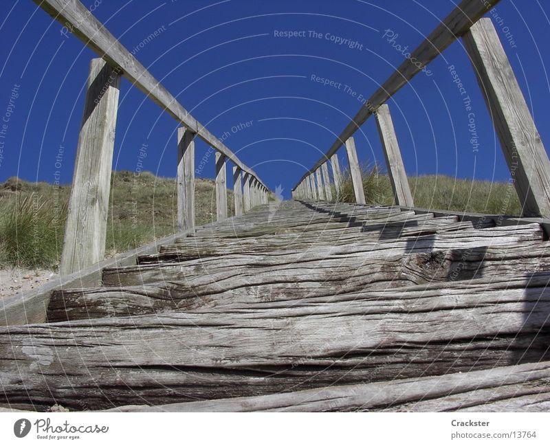 stairs to heaven? Unendlichkeit Himmel Holz Freizeit & Hobby Treppe endless sky Geländer