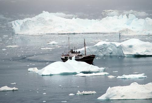 Eisslalom Natur Ferien & Urlaub & Reisen Sommer Wasser Meer Umwelt Bewegung Küste grau Stimmung Klima Abenteuer fahren Tradition türkis Schifffahrt