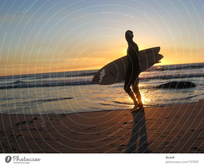 life's a beach and than u will die... Wasser schön Himmel Sonne Meer Strand Wellen Küste Surfen Surfer Surfbrett Südafrika Schattenspiel Niederlande Kapstadt