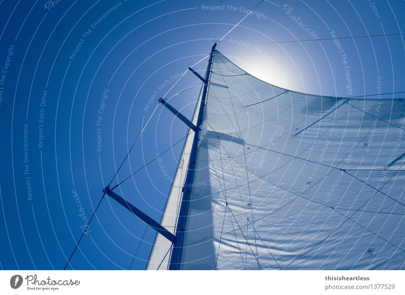 18.098820 Nord / 2.402340 Ost Lifestyle Ferne Sommerurlaub Meer Wassersport Segeln Luft Himmel Wolkenloser Himmel Wind Schifffahrt Bootsfahrt Passagierschiff