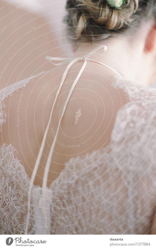 Brautmorgen schön Sommer Blume Freude Wärme Leben feminin Stil Lifestyle außergewöhnlich Freiheit Stimmung Party wild Freizeit & Hobby elegant