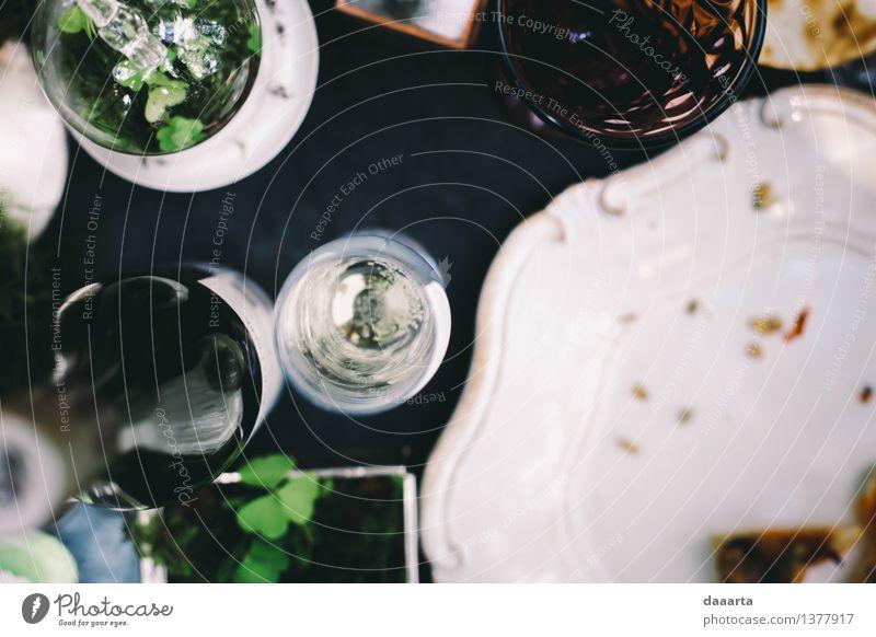 Tabelleneinstellung 2 Wein Lifestyle elegant Stil Design Leben harmonisch Freizeit & Hobby Spielen Ausflug Abenteuer Freiheit Traumhaus Innenarchitektur