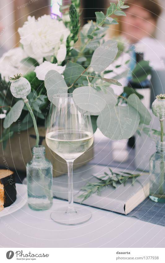 Pflanze Blume Blatt Freude Innenarchitektur Stil Lifestyle Feste & Feiern Freiheit Stimmung Party Freizeit & Hobby Dekoration & Verzierung elegant Glas