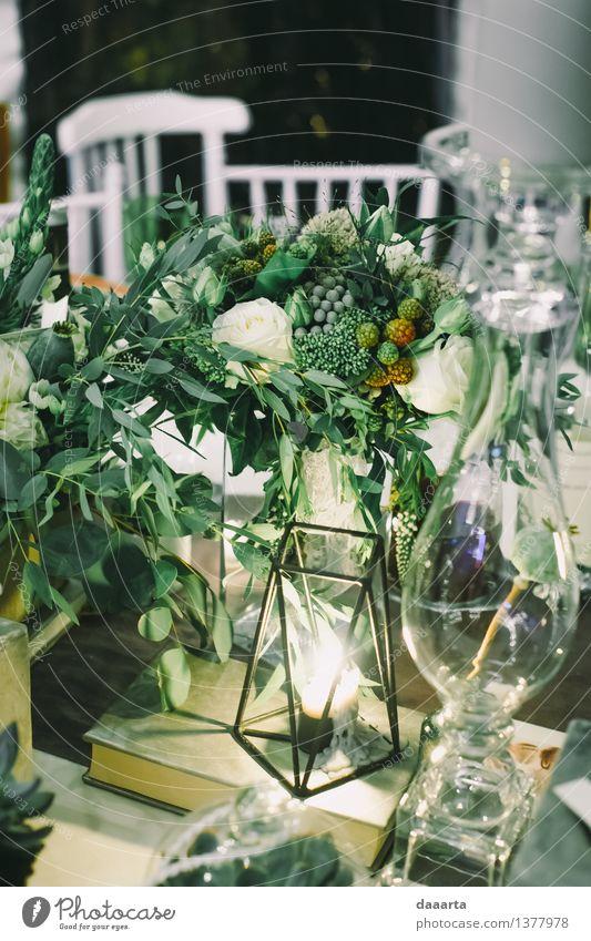 Tabelleneinstellung 7 Natur Pflanze Blume Blatt Freude Leben Gras Stil Glück Lifestyle Stimmung Party Design wild Freizeit & Hobby elegant
