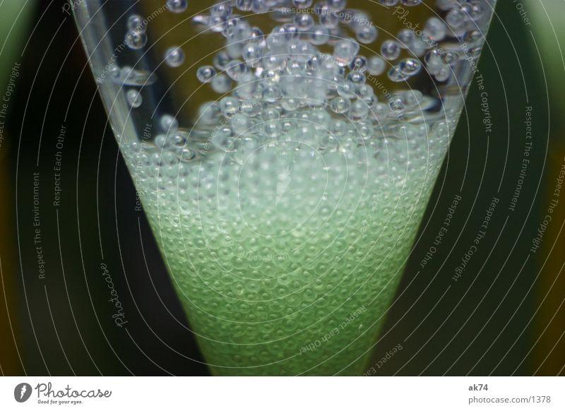 Blasen Wasser grün Glas Technik & Technologie blasen Labor Makroaufnahme Elektrisches Gerät Rogen
