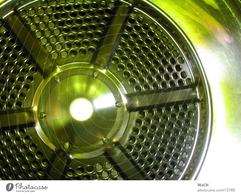 style green grün Stil Industrie Technik & Technologie Stahl trocken Charakter Aluminium Waschmaschine trocknen Trommel Lochblech Chrom abstrakt Fototechnik Elektrisches Gerät