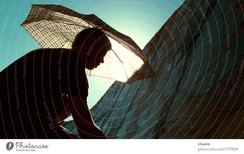 ::SUMMERTIME:: Sonnenschirm Licht Physik sprühen Wand Himmelskörper & Weltall Mensch Sommer Wetterschutz sun Wärme writing streichen Schatten