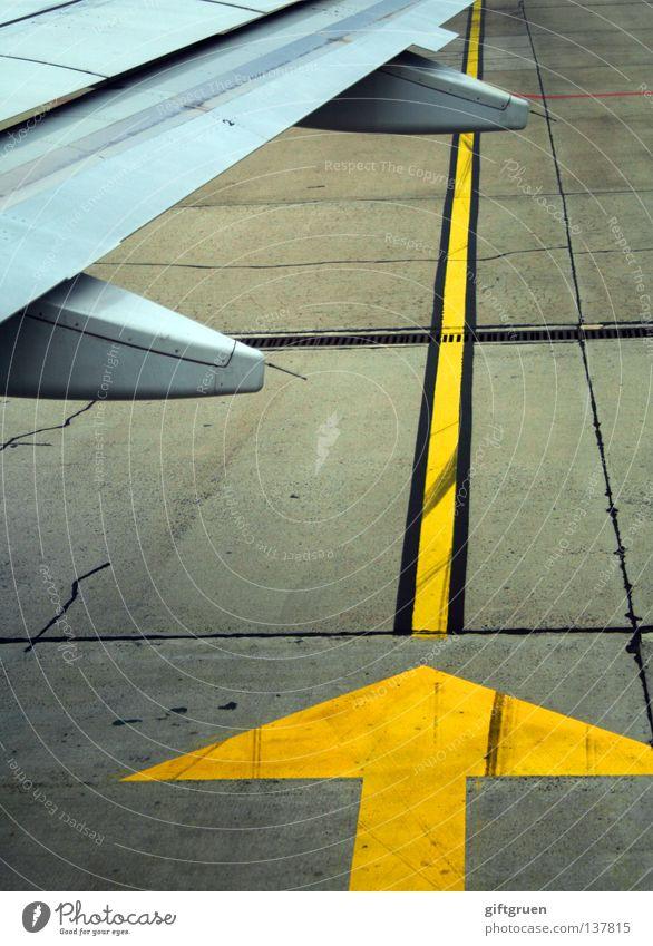 altitude 0.0 ft. Flugzeug Rollfeld Vorfeld Tragfläche Bodenmarkierung Ankunft Abdeckung Luftverkehr Industrie Flughafen außenposition Ferien & Urlaub & Reisen