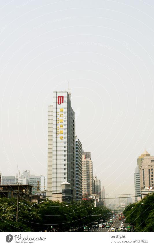 lanzhou, china Baum Stadt Einsamkeit Haus Architektur PKW Business Arbeit & Erwerbstätigkeit Hochhaus Verkehr groß Wachstum Hoffnung KFZ Mitte