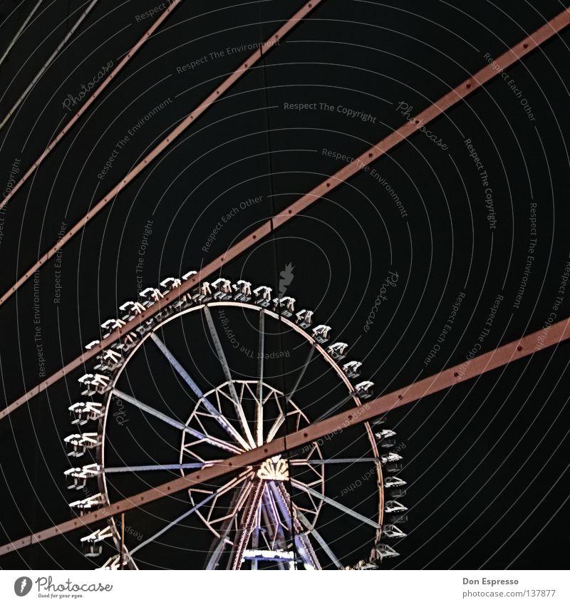 Freimaaak! Freude Fenster Linie Feste & Feiern Freizeit & Hobby Glas Ausflug Wien Spiegel Jahrmarkt Fensterscheibe Oktoberfest Zirkus Bremen Riesenrad Karussell