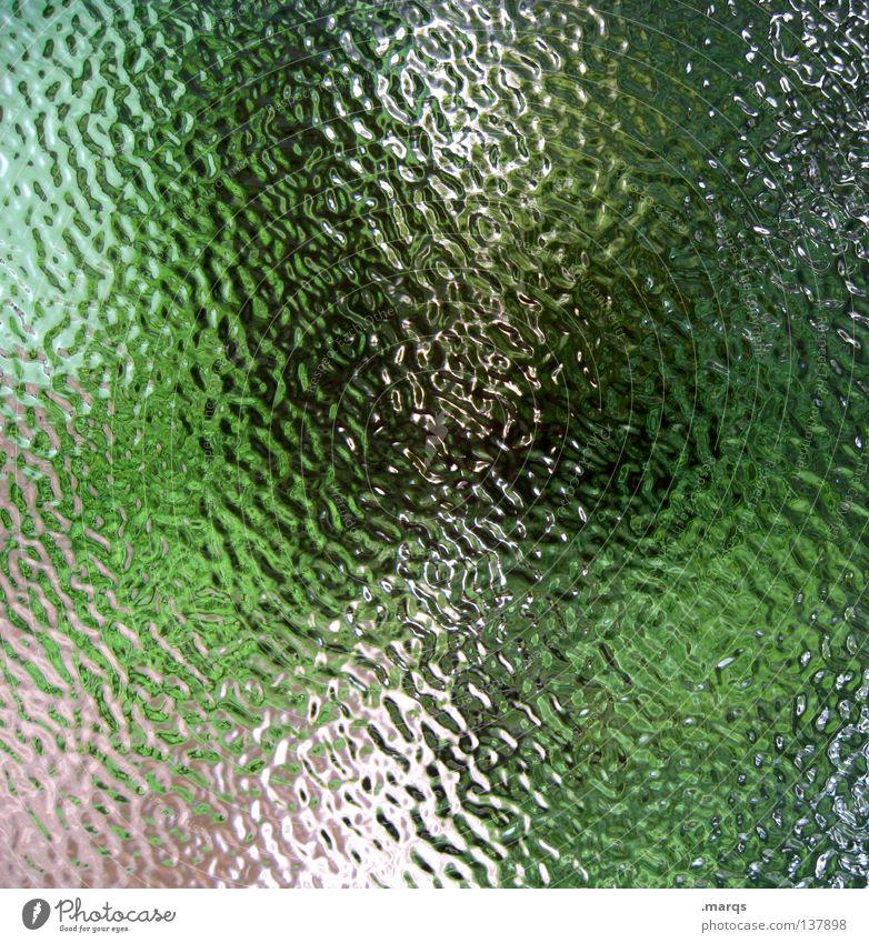. grün Sommer Farbe Kunst Glas Hintergrundbild streichen obskur Gemälde gebrochen Erdöl Fleck Fensterscheibe Surrealismus durcheinander Oberfläche