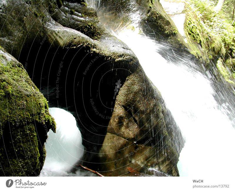 Naturdenkmal Schößwendklamm 2 Denkmal Österreich Wasserkraftwerk Naturphänomene Schlucht Klippe Brandung Stein widersetzen Fressen Berge u. Gebirge Fluss Bach