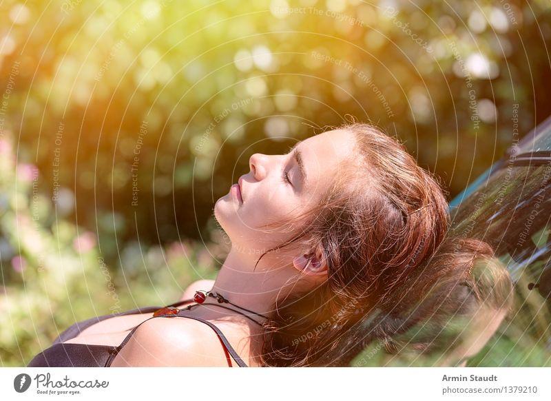 The Art Of Peace II Lifestyle Reichtum Stil Glück schön Gesundheit Wohlgefühl Zufriedenheit Erholung Sommer Sommerurlaub Mensch feminin Junge Frau Jugendliche