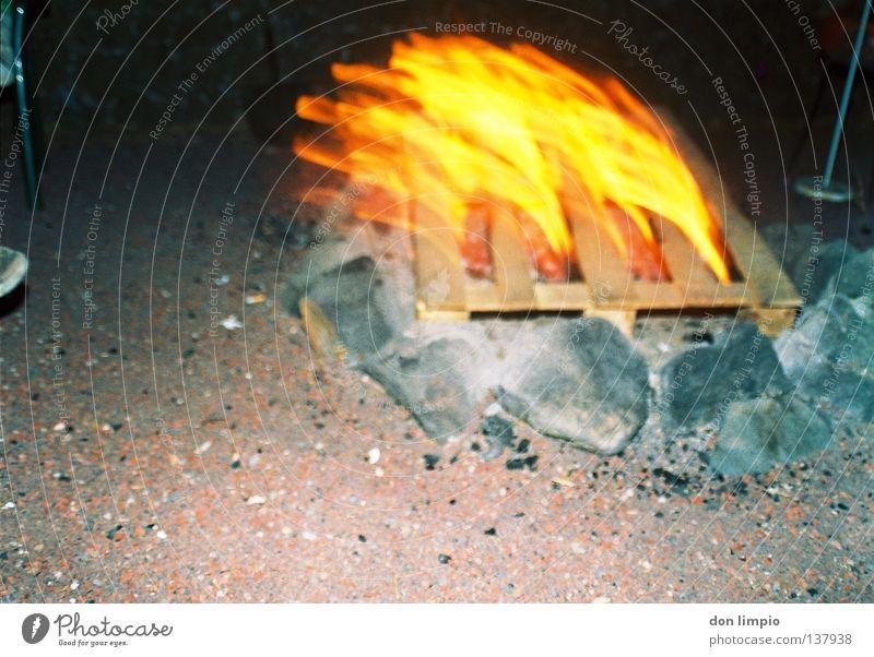 (ohne Titel) Stein Wärme Wind Brand Feuer Physik heiß analog Paletten
