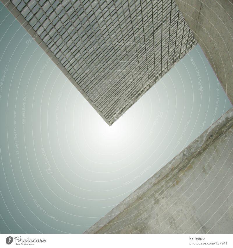 L Himmel Stadt Sonne Wolken Haus Straße Wand Fenster Raum Wohnung Beton Perspektive Schriftzeichen Buchstaben Niveau