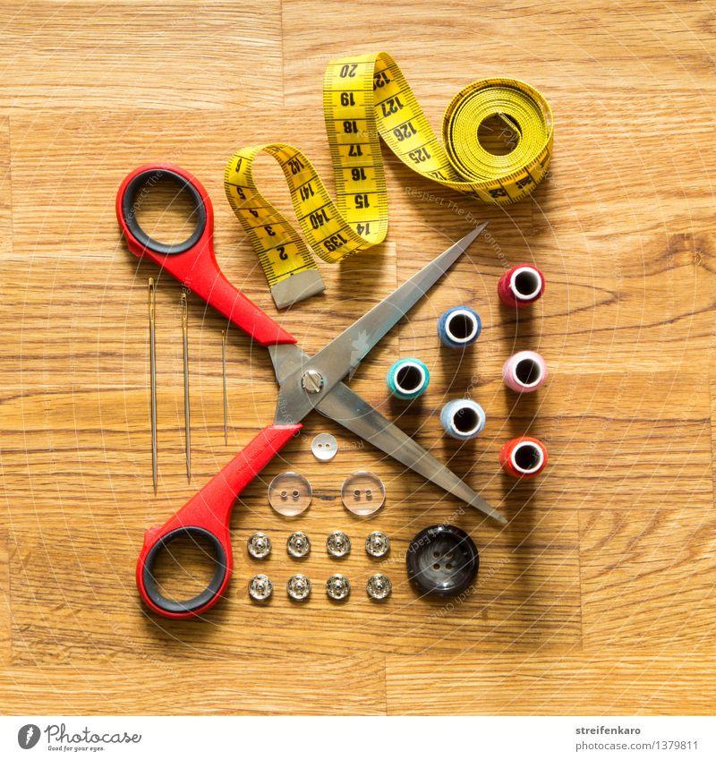 Aus'm Nähkästchen I schön Stil Mode Arbeit & Erwerbstätigkeit Design Häusliches Leben Ordnung ästhetisch Kreativität Bekleidung Idee Beruf Konzentration