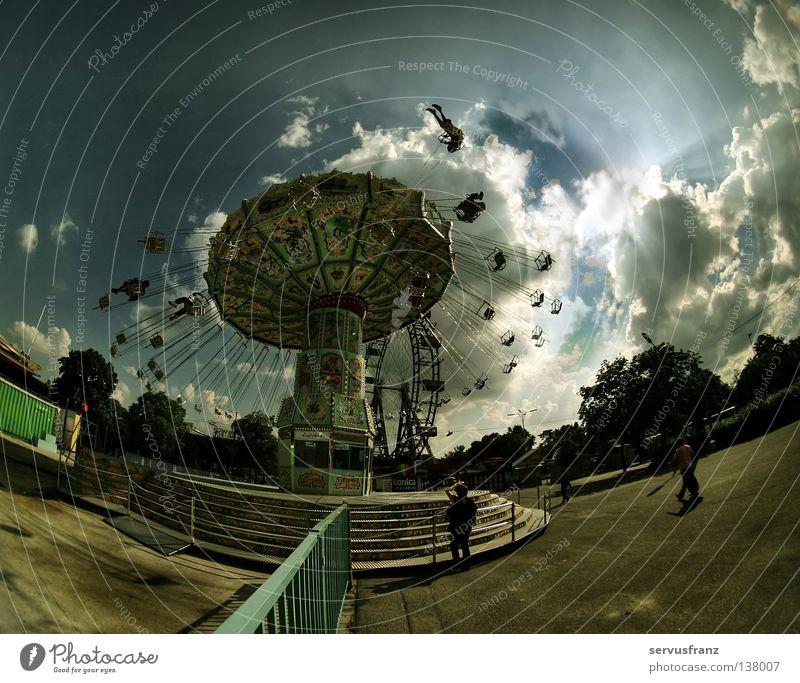 das Ringelspiel ! Freude Freizeit & Hobby Jahrmarkt Wien Ausstellung Karussell Vergnügungspark Prater