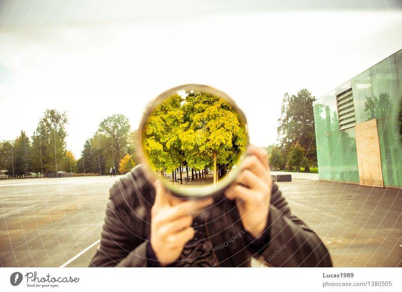 neues Objektiv Mensch Ferien & Urlaub & Reisen Jugendliche Mann Pflanze grün Baum Junger Mann 18-30 Jahre Erwachsene Park maskulin Tourismus verrückt Ausflug