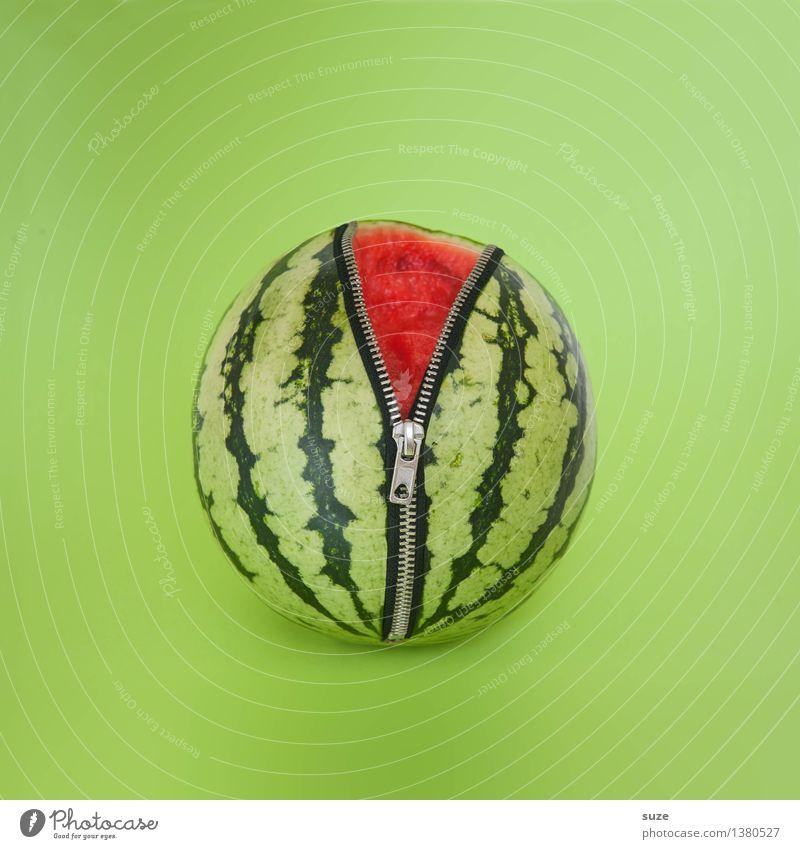 Verlockung grün Gesunde Ernährung rot Leben lustig Lifestyle Lebensmittel Design Frucht frisch verrückt einfach rund neu lecker