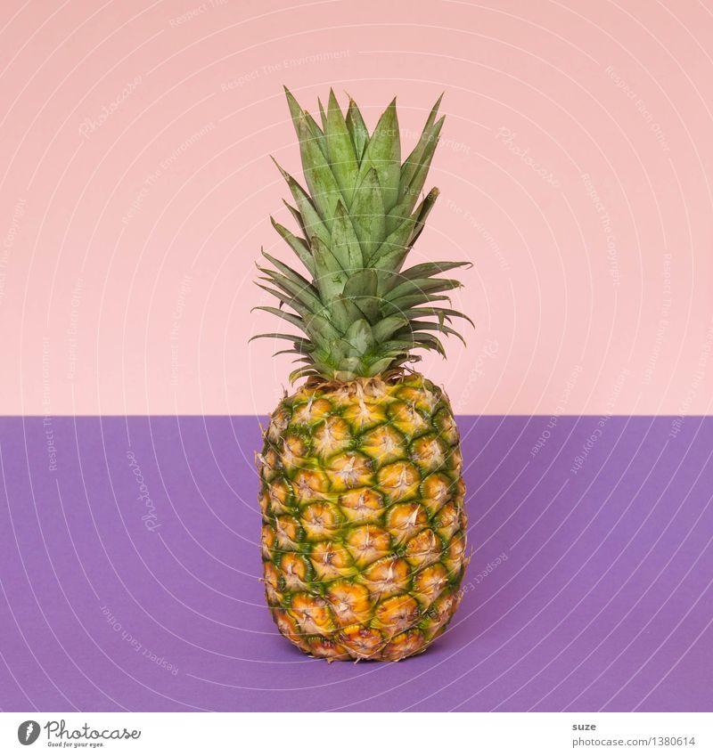 Seid fruchtbar und mehret euch Sommer Gesunde Ernährung Stil Gesundheit Lifestyle Lebensmittel rosa Frucht Design einfach Coolness violett lecker Bioprodukte