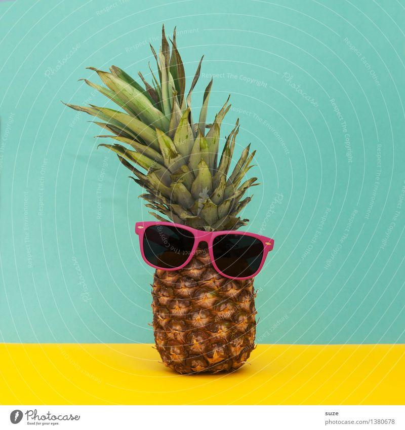 Hipster Lebensmittel Frucht Lifestyle Stil Design Coolness lustig verrückt trashig Vegetarische Ernährung Fasten Freude Sommer Sommerurlaub Bar Cocktailbar