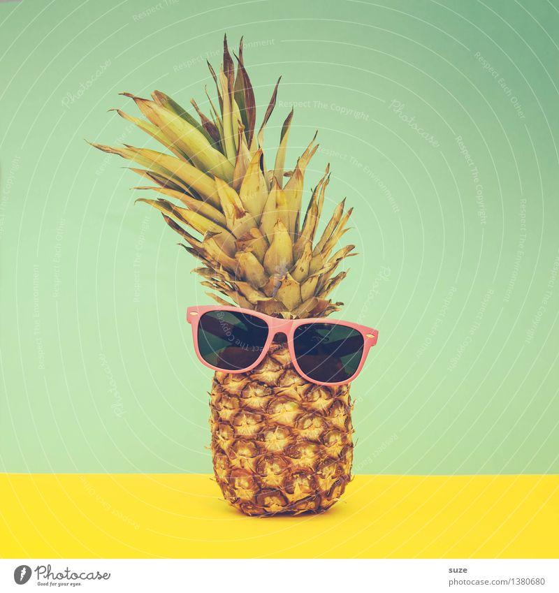 Aloha He! Sommer Freude lustig Stil Lifestyle Feste & Feiern außergewöhnlich Mode Lebensmittel Party Frucht Design Fröhlichkeit verrückt Kreativität retro