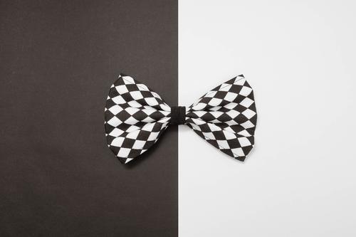 Ausgehfliege weiß Freude dunkel schwarz Stil Lifestyle Mode Party Business hell Design elegant Ordnung Dekoration & Verzierung einfach Stoff