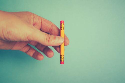 ABER hat heut Pause Stil Design Schule Studium Arbeit & Erwerbstätigkeit Büroarbeit Business Mittelstand Karriere Hand Finger Schreibwaren Schreibstift