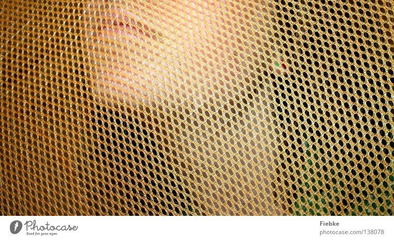 Gut Vernetzt Frau Mensch Jugendliche ruhig Wand Haare & Frisuren orange Mund Zufriedenheit geschlossen Energiewirtschaft leer gefährlich bedrohlich Stoff Ohr