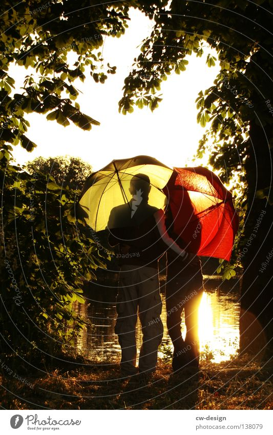 BOOOAAAAAAAAAAAAAAAAAAHHH!!! Frau Mann Jugendliche grün rot Liebe dunkel Glück Paar hell Zusammensein maskulin paarweise Vertrauen Liebespaar Partnerschaft
