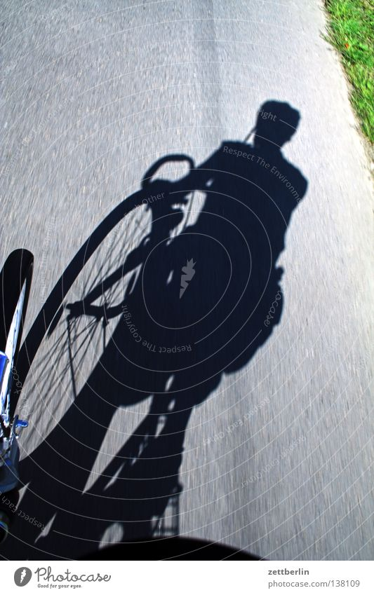 Radtour Fahrrad Felge Gabel Schutzblech Fahrradfahren Fahrradtour Fahrradweg Geschwindigkeit Tour de France Verkehrswege Sport Spielen Speichen Fahrradlenker