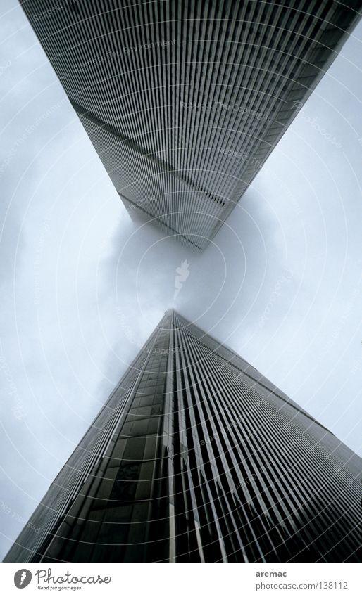 Wolkenkratzer Hochhaus Haus Bürogebäude New York City Manhattan Mitte Turm World Trade Einkaufszentrum Architektur