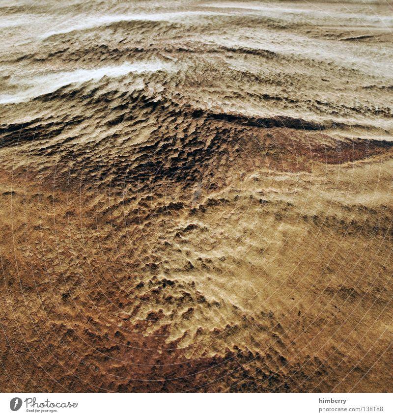 ground zero Wand Sand Mauer Gebäude Erde Wind dreckig Fassade trist Bodenbelag Wüste Hügel trocken verfallen Stranddüne Mond