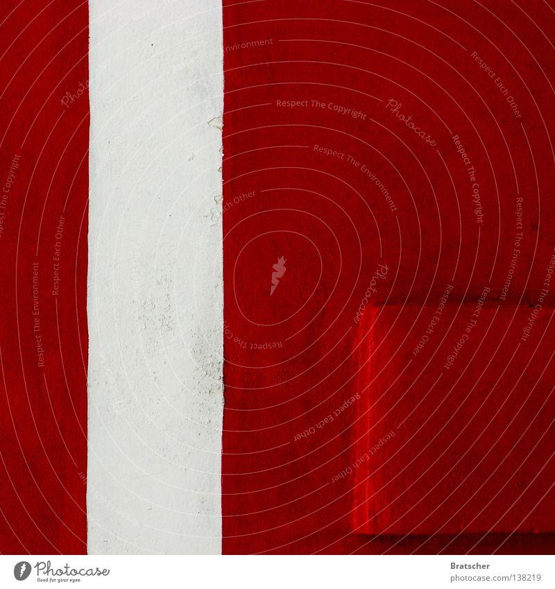 Studie #1 Farbkreis rot weiß Esoterik Kino Theater Angst Panik Versuch Idee Farbstudie Kontrast Blut Almosen