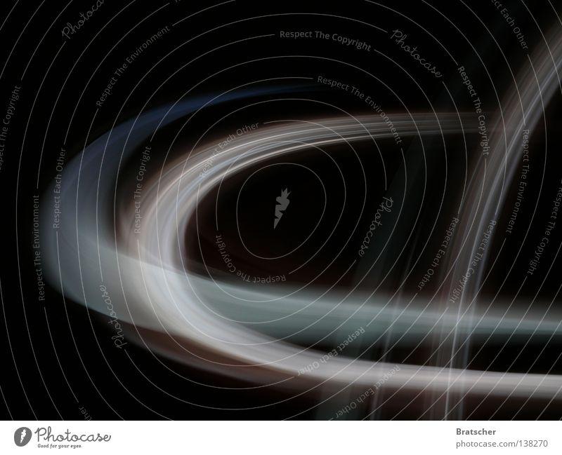 Like a Satellite. schwarz Geschwindigkeit planen Zukunft abstrakt Spuren Information fantastisch Autobahn Kurve Konkurrenz Digitalfotografie verfolgen Daten