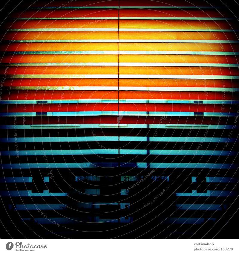 the house of the rising sun Himmel Haus Fenster Wärme orange Physik Wohnzimmer Jalousie Fensterladen Himmelskörper & Weltall 21 Bordell New Orleans