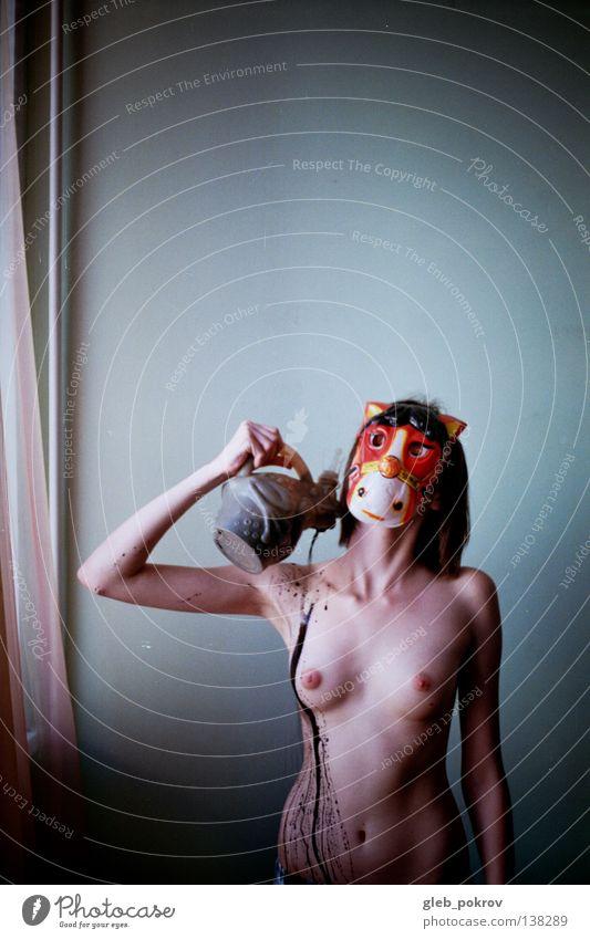dreaming horse. Frau Hand Wasser Freude schwarz nackt Akt Beine Kunst Hintergrundbild Finger Filmindustrie Bodenbelag Kitsch Maske Hose