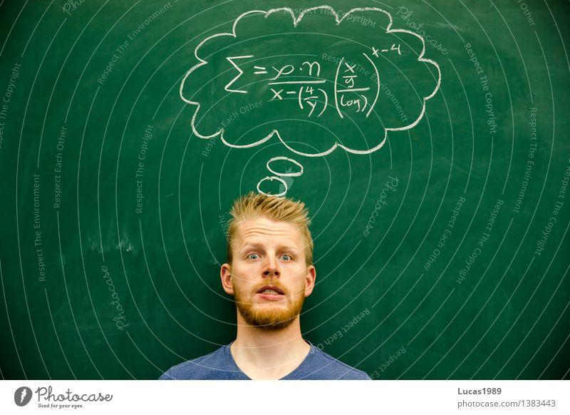 Die Lösung ist 42 Mensch Jugendliche Mann Junger Mann 18-30 Jahre Erwachsene Schule maskulin Angst lernen Studium Bildung Erwachsenenbildung Student