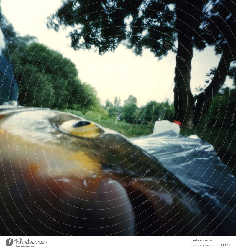 LochbildAngeln001 Auge Tod glänzend Lebensmittel Ernährung Fisch Frankreich