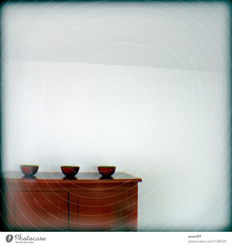 Gebetsschale Unschärfe schemenhaft Raster Muster analog Sucher umrandet Rahmen Schrank Schalen & Schüsseln rot Innenarchitektur Häusliches Leben