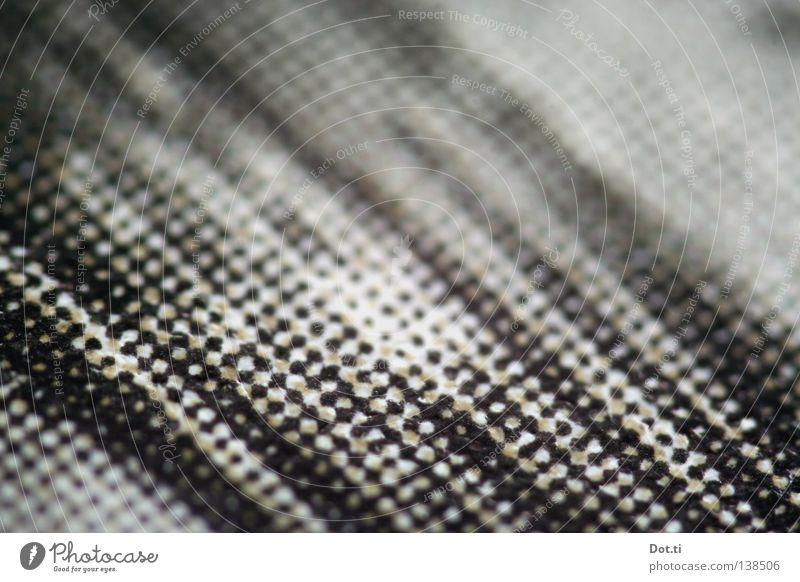 Punktschluss weiß schwarz Hintergrundbild Papier Streifen Grafik u. Illustration diagonal Tiefenschärfe Oberfläche graphisch Raster gestreift unklar gepunktet