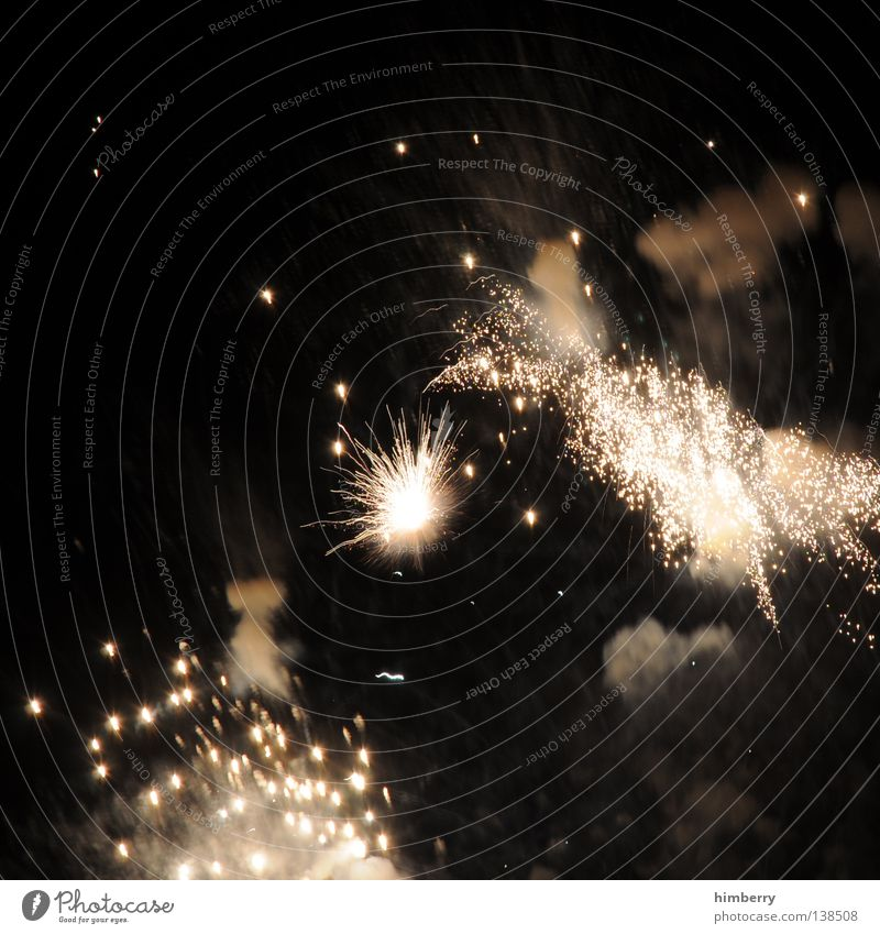 peng peng Freude Feste & Feiern Lampe Party glänzend Geburtstag Brand Weltall Silvester u. Neujahr Rauch Feuerwerk Krieg Zauberei u. Magie Funken Explosion