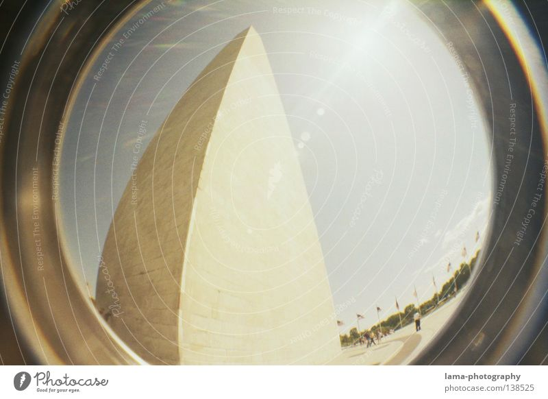 Egypts Land? Himmel Sonne Kunst groß Hochhaus hoch Kreis Macht USA rund Turm Wüste Kugel analog Statue Amerika