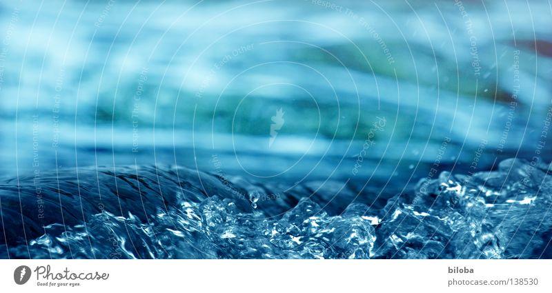 Die lange Welle Himmel Natur blau Wasser Einsamkeit ruhig kalt Leben Gefühle Hintergrundbild See Stein Erde Zufriedenheit Luft Wellen