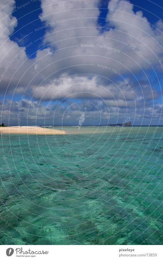 Mauritius Wasser Meer Strand Wolken München Trauminsel