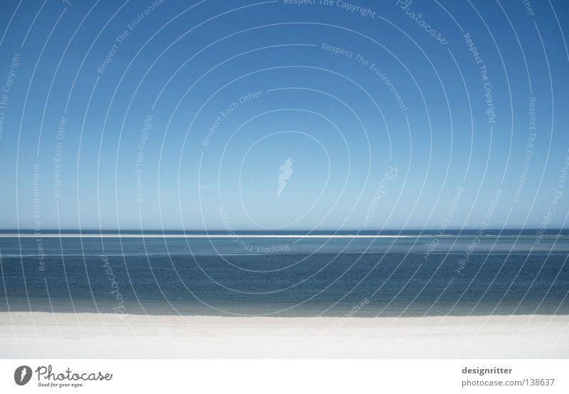 Ruhiges Wochenende … Wasser Himmel Meer blau Strand Ferien & Urlaub & Reisen ruhig kalt Erholung Freiheit See Zufriedenheit braun Küste Deutschland frei