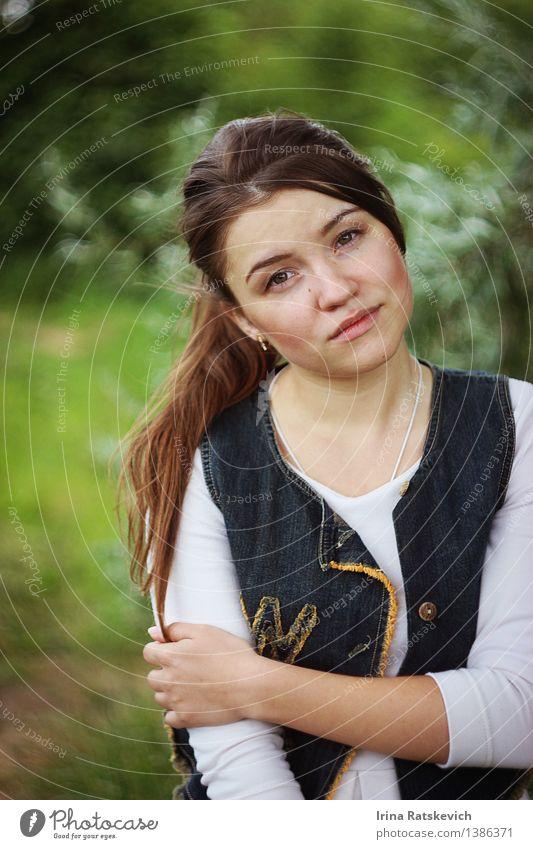 Mode Mädchen Mensch Natur Jugendliche schön Junge Frau Baum Erotik Landschaft 18-30 Jahre Wald Gesicht Erwachsene Haare & Frisuren Körper authentisch