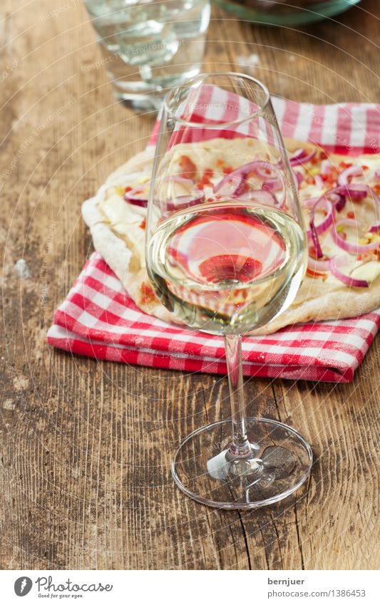 Herbstessen grün weiß rot Frühling Lebensmittel Glas Tisch Kultur lecker Bioprodukte Frankreich Backwaren Abendessen Vegetarische Ernährung Teigwaren