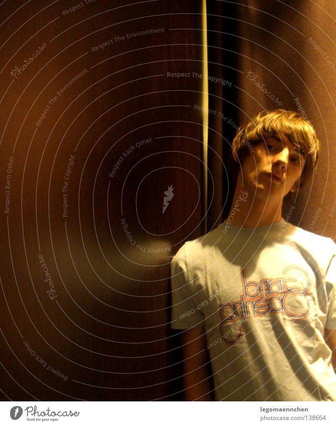 shadow ohne fog schön Haare & Frisuren Jugendliche Arme T-Shirt Denken dunkel hell neu braun Hochmut Indie mittellang mando diao brown boy Hals youth young
