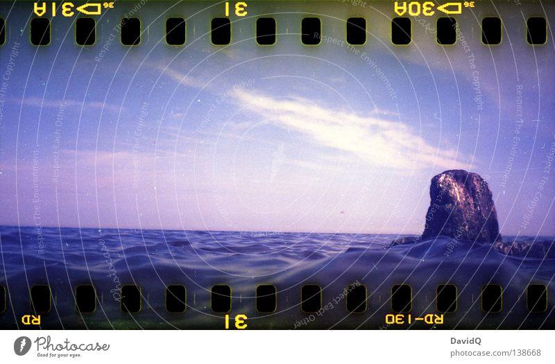 He didn't know how to swim, I did. Wasser Meer Strand Küste Filmmaterial Turm Medien beobachten Kontrolle Ostsee Rettung Rettungsring Freibad Fernsehen Gast überblicken